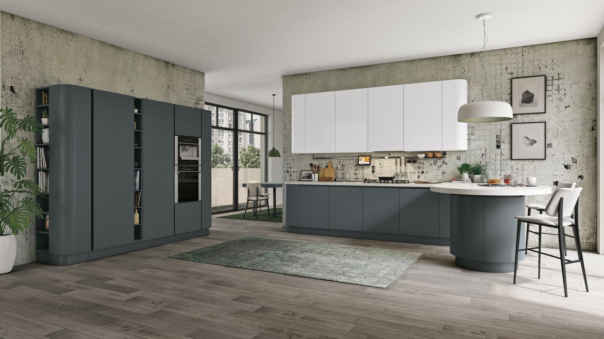 Zona Giorno - TuttoLegno Arredamenti - Rivenditore ufficiale cucine LUBE